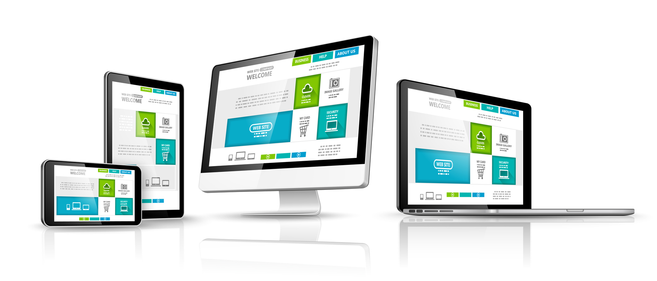 WCI website design services